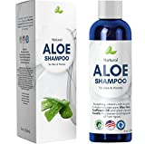 Honeydew Products Aloe Vera Shampoo with Sunflower & Keratin - Natural Hydrating Shampoo for Soft & Shiny Hair - Sulfate Free for Color Treated Hair - Men & Women (8oz)