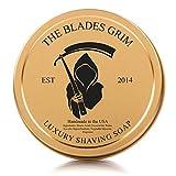 The Blades Grim Gold Luxury Shaving Soap.