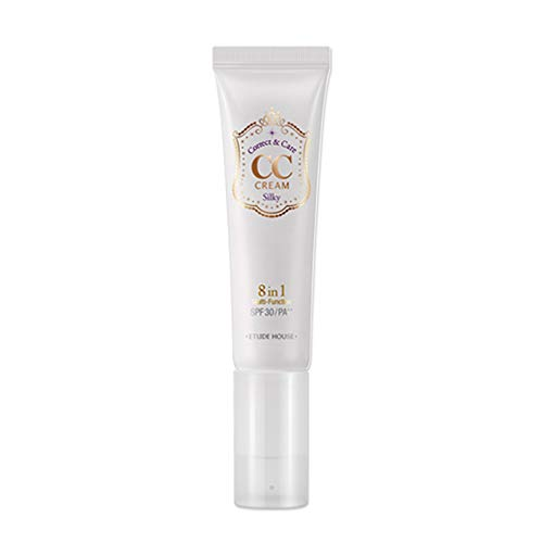 Etude House Correct and Care CC Cream, Silky, 1.3 Ounce