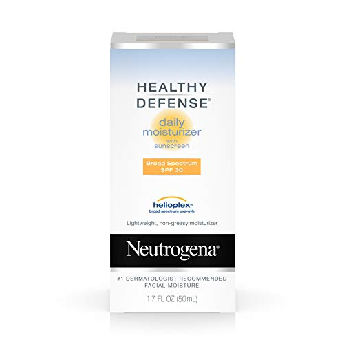 Neutrogena Healthy Defense Daily Moisturizer For Sensitive Skin With Broad Spectrum Spf 30 Sunscreen, 1.7 Fl. Oz.