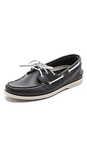 Sperry mens A/O 2 Eye loafers shoes, New Navy, 9 US