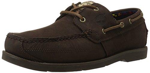 Timberland Men's Earthkeepers Kiawah Bay Boat Shoe,Dark Brown/Brown,9.5 M US