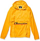 Champion LIFE Men's Anorak Windbreaker, c Gold w/Shadow Script, Medium