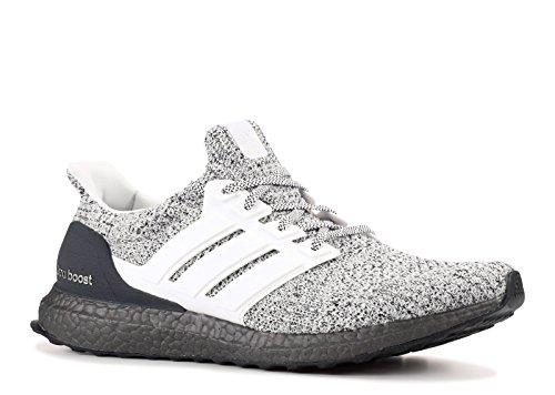 adidas Men's Ultraboost, White/White/Grey, 11.5 M US