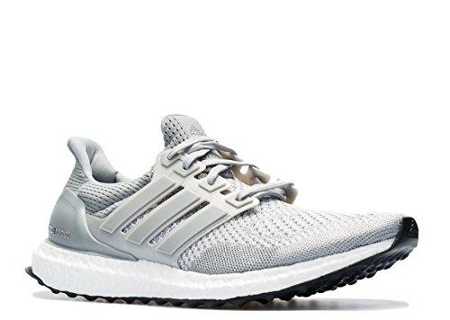adidas Originals Ultra Boost LTD Running Shoe, Grey/White/Clear Granite Grey, 10.5 M US