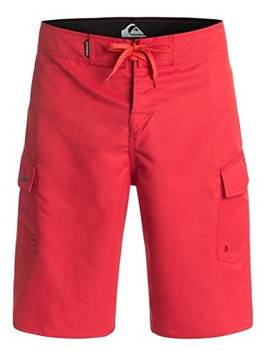 Quiksilver Men's Manic 22 Inch Boardshort, Shocking Orange, 33