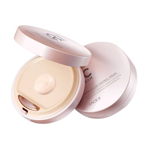 The Face Shop Make-up (FACE it Aura CC Cream #1 Bright Beige)