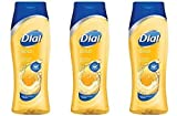 Dial Gold Hydrating Body Wash 16 oz (Pack of 3)