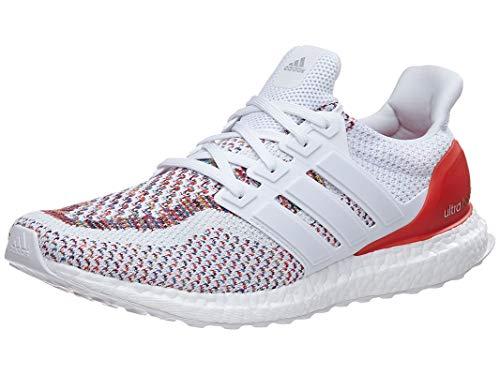 adidas Men's UltraBOOST m Running Shoe, White/Poppy, 9.5 M US