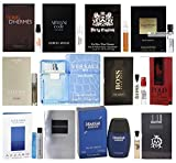 Pilestone's Selection: Men's Designer Fragrance Samples - 12ct Cologne Vials