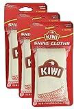 KIWI Shine Cloths, 2 CT (Pack - 3)