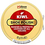 KIWI Shoe Polish, Neutral, 1 Metal Tin, 1.125 oz