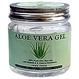 Raslok Aloe Vera Gel Pure Natural Organic Aloe Gel For Moisturizing Face Skin & Hair Care,Durable Moisturizing Hydrating Soothing After Sun Repair Non-Sticky (7.76 oz)