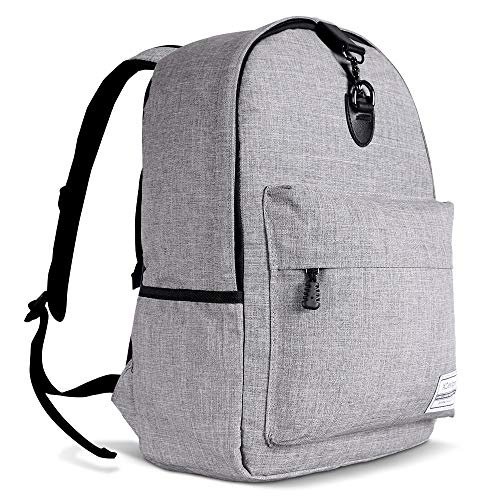 XDesign Travel Laptop Backpack with Anti-theft Lock Up to 16' Notebook - Grey