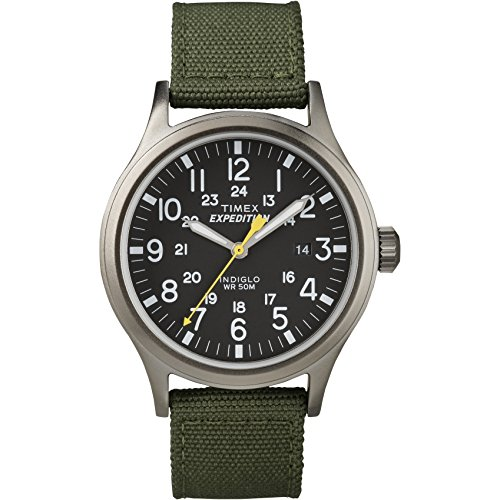 Timex Men's T49961 Expedition Scout 40 Green Nylon Strap Watch