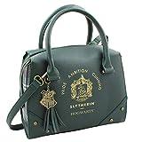 Harry Potter Purse Designer Handbag Hogwarts Houses Womens Top Handle Shoulder Satchel Bag Slytherin