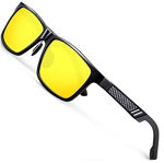 ATTCL 6560 Men's Hot Retro Driving Polarized Wayfarer Sunglasses