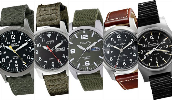 5 Top Men's Field Watches For Under $200