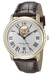 Frederique Constant Men's FC-315M4P5 Persuasion Heart Beat Silver Open Dial Watch