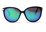 Fuzhao Women's Polarized Sunglasses Cat Eye Sunglasses Aviator Wayfarer Sunglasses Case