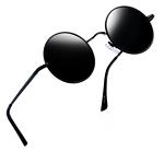Joopin-Round Retro Polaroid Sunglasses for Driving