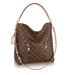 Louis Vuitton Mélie Monogram Canvas Leather Shoulder Handbag