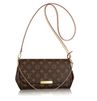 Louis Vuitton Favorite MM Monogram Canvas Cluth Bag Handbag