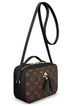 Louis Vuitton Monogram Canvas Saintonge Cross Body Handbag Noir