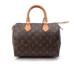 Louis Vuitton Speedy 25 Brown Monogram Travel Bag