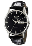 Tissot Men's T0194301605101 Visodate Black Dial Watch