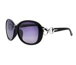 VeBrellen Luxury Women Polarized Sunglasses Retro Eyewear Oversized Goggles Eyeglasses